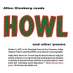 allen ginsberg reads howl & other poems modern silence