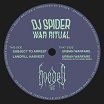 dj spider war ritual hooded