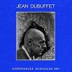 jean dubuffet-expériences musicales 1961 2lp