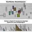 karlheinz stockhausen-studie i & ii, gesang der jünglinge, zyklus für zwei schlagzeugern lp