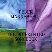 peder mannerfelt-the 3d printed songbook ep