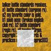 talker-battle standards remixes